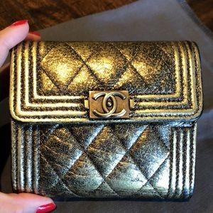 🌺🌸🌼 Chanel Boy Compact Wallet ✨✨✨